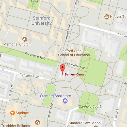 Map of Barnum / Stanford GSE